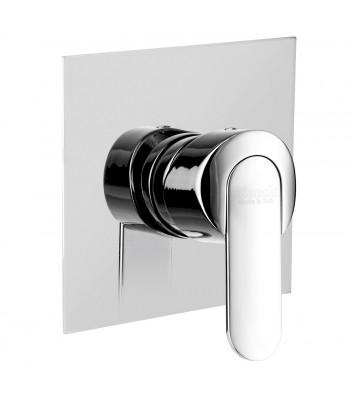 Built-in single-lever shower mixer
