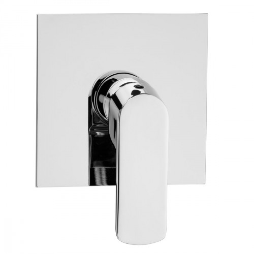 Built-in single-lever shower mixer