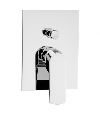 Built-in single-lever shower mixer with automatic diverter 2 ways