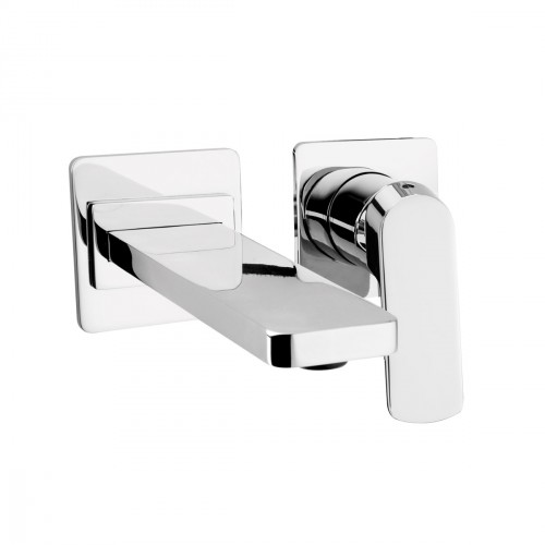 Built-in single-lever basin mixer