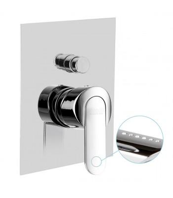 Miscelatore monocomando incasso doccia con deviatore 2 vie automatico