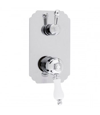 Built-in single-lever shower mixer with manual diverter 3 ways