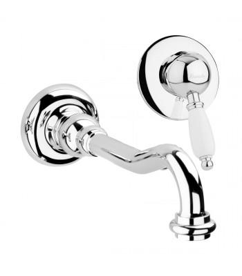 Miscelatore monocomando lavabo ad incasso