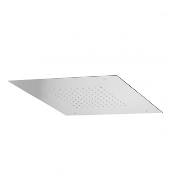 Concealed Stainless Steel shower head 500x500 with 1 function: rain
