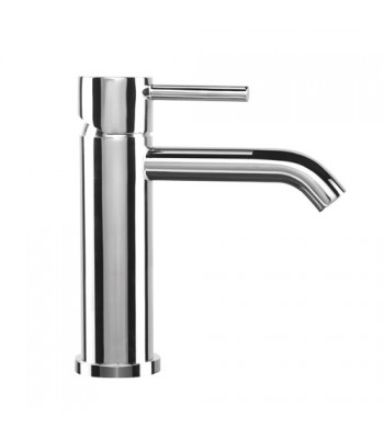 "Single-lever basin mixer with 1"" 1/4"" pop-up waste"