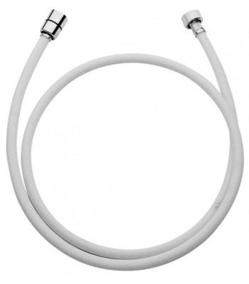 Flessibile in nylon Ø12 con ghiera 1/2 cono Or 1/2 in sacchetto e cavallotto