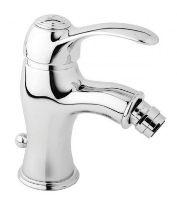 "Single-lever bidet mixer with - 1"" 1/4"" pop-up waste"