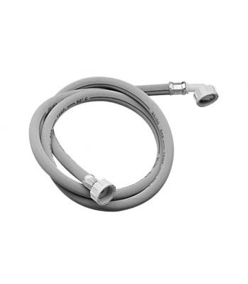Tubo di carico per lavatrice 93°C 3/4 femmina/curva in sacchetto e cavallotto