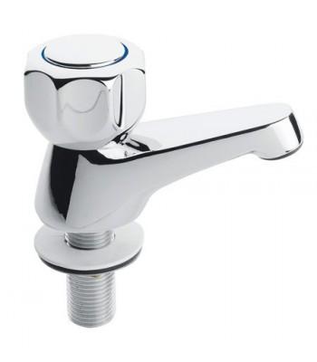 Pair wall basin pillar tap