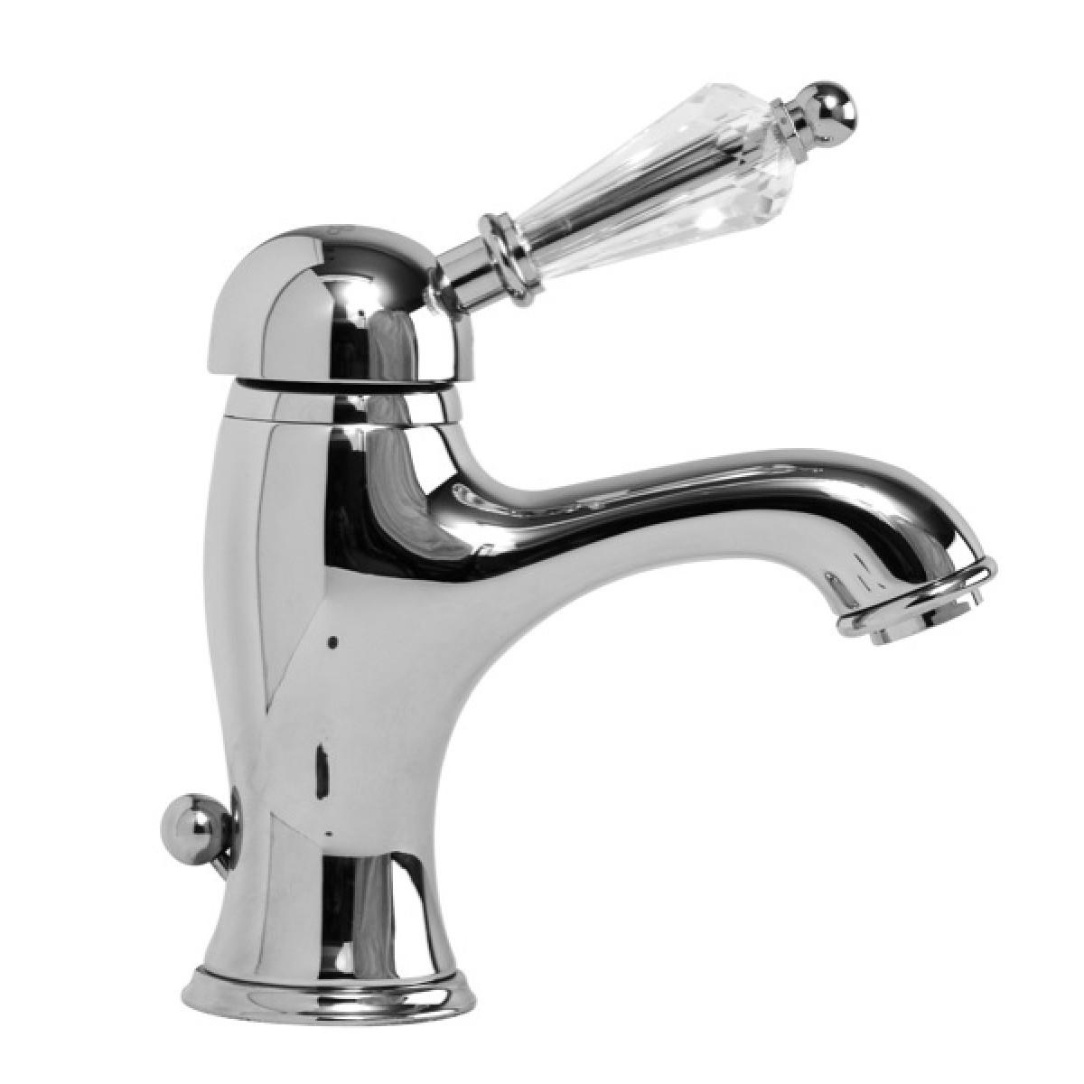 Miscelatore monocomando lavabo con scarico 1 lvbvnt200200 - Rubinetti bagno vintage ...