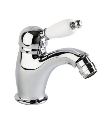 "Single-lever bidet mixer with 1"" 1/4"" pop-up waste"