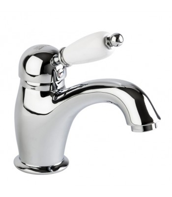 """Single-lever basin mixer with 1"" 1/4"" pop-up waste"