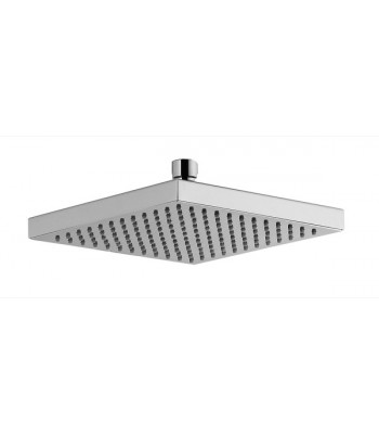 Square shower head 200x200 in ABS chromed