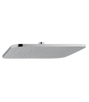ABS Ermes head shower 300x300 mm with rounded corner, no limestone inspectionable